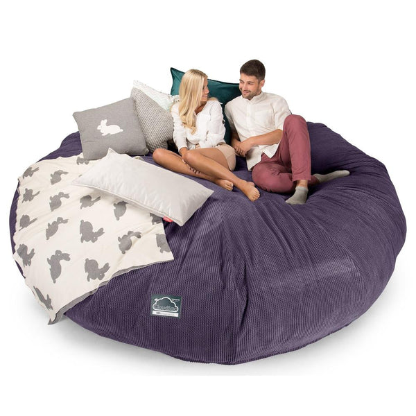 CloudSac-5000-XXXXXL-A-Titanic-Memory-Foam-Bean-Bag-Sofa-Pom-Pom-Purple_1