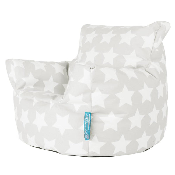 Toddlers'-Armchair-1-3-yr-Bean-Bag-Print-Grey-Star_2