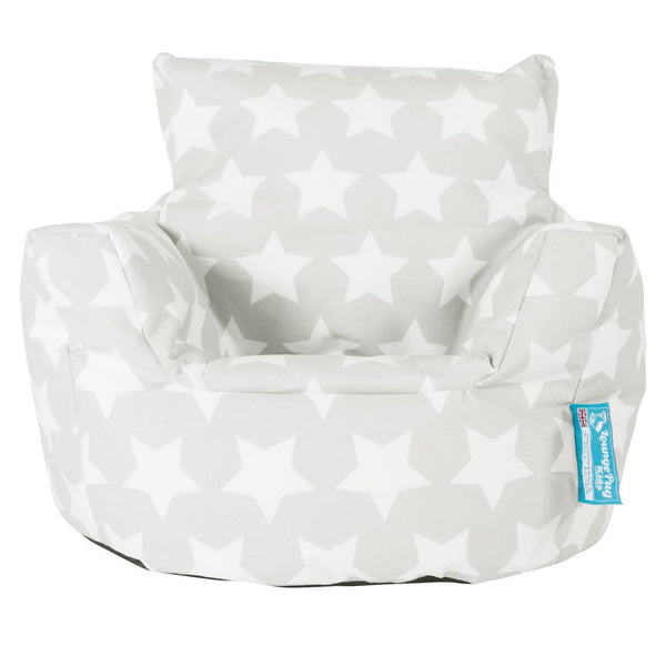 Toddlers'-Armchair-1-3-yr-Bean-Bag-Print-Grey-Star_1