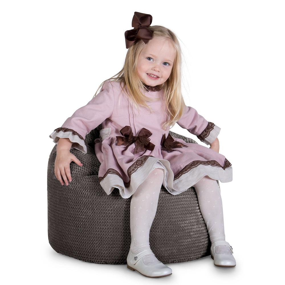 Children's-Bean-Bag-Pom-Pom-Charcoal-Grey_1
