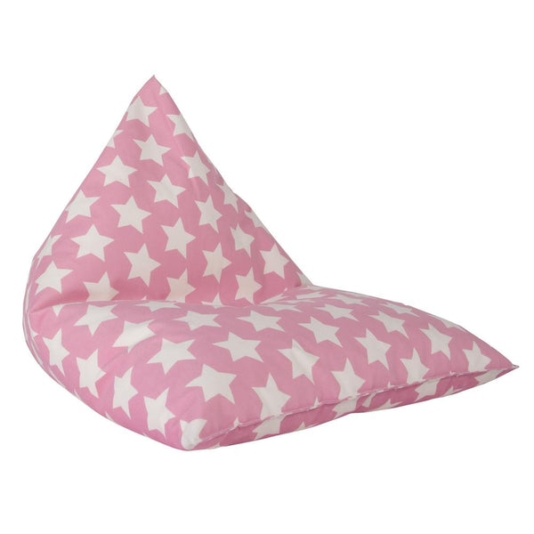Children's-Pod-Bean-Bag-Print-Pink-Star_1