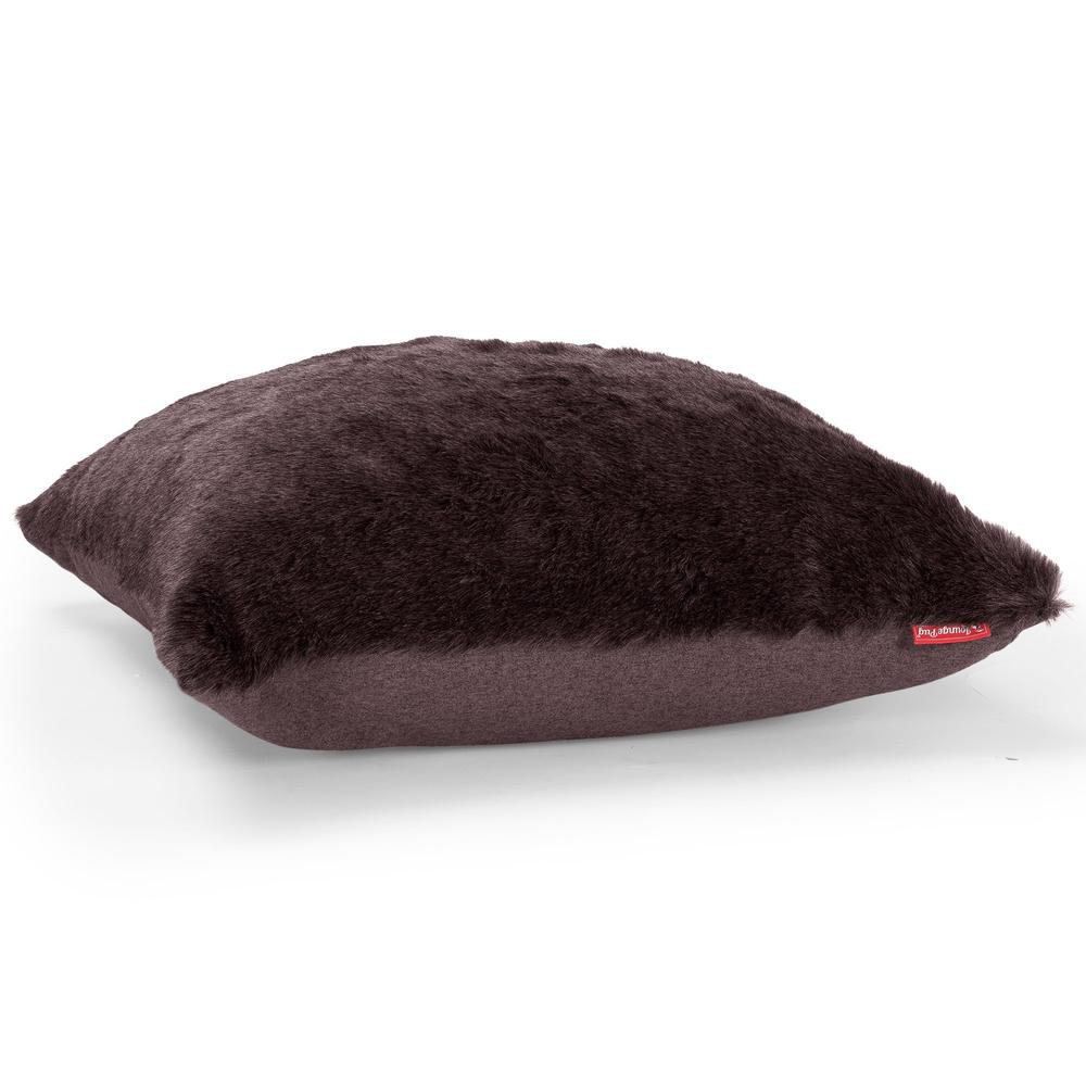 Scatter-Cushions-(2-sizes-:-47cm-/-70cm)-Fluffy-Faux-Fur-Brown-Bear_3
