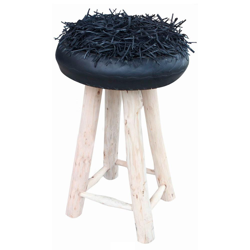 Shaggy-Oriental-Footstool-Grey_5