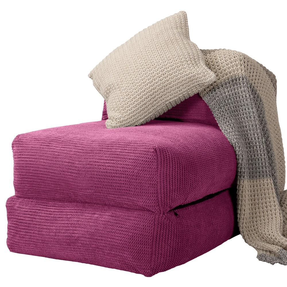 Avery-Futon-Chair-Bed-Single-Pom-Pom-Pink_4