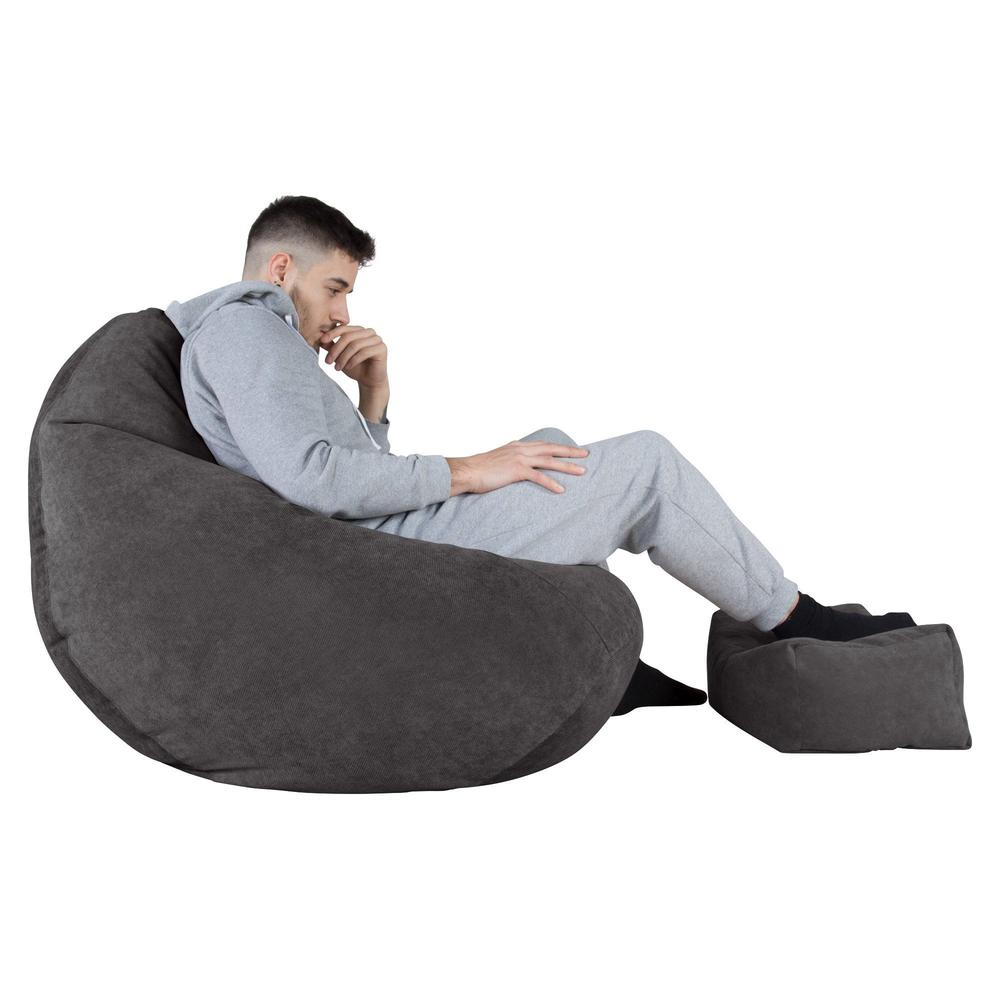 Highback-Bean-Bag-Chair-Flock-Graphite-Grey_5