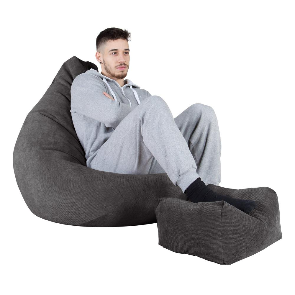 Highback-Bean-Bag-Chair-Flock-Graphite-Grey_4