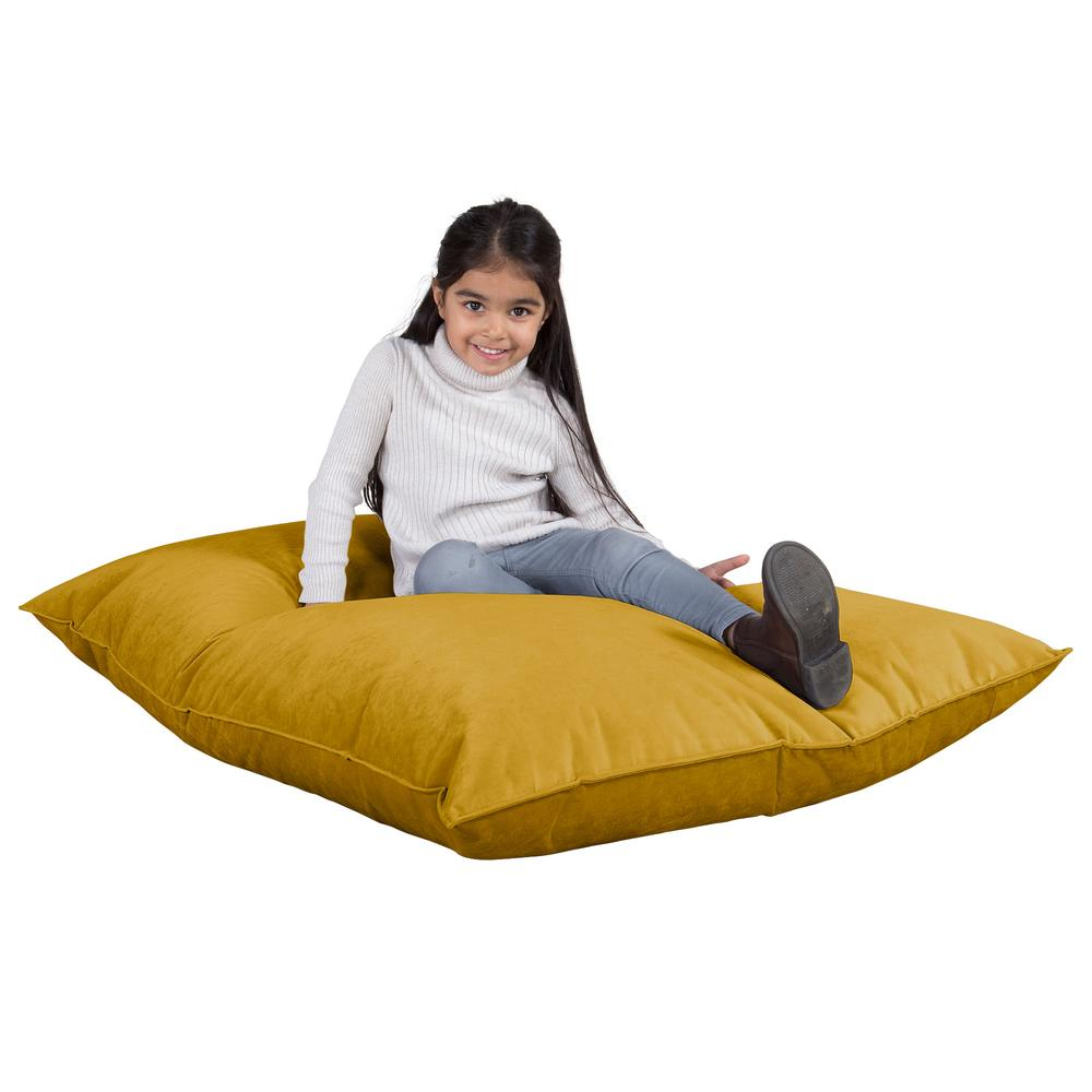 Junior-Children's-Bean-Bag-Velvet-Gold_1