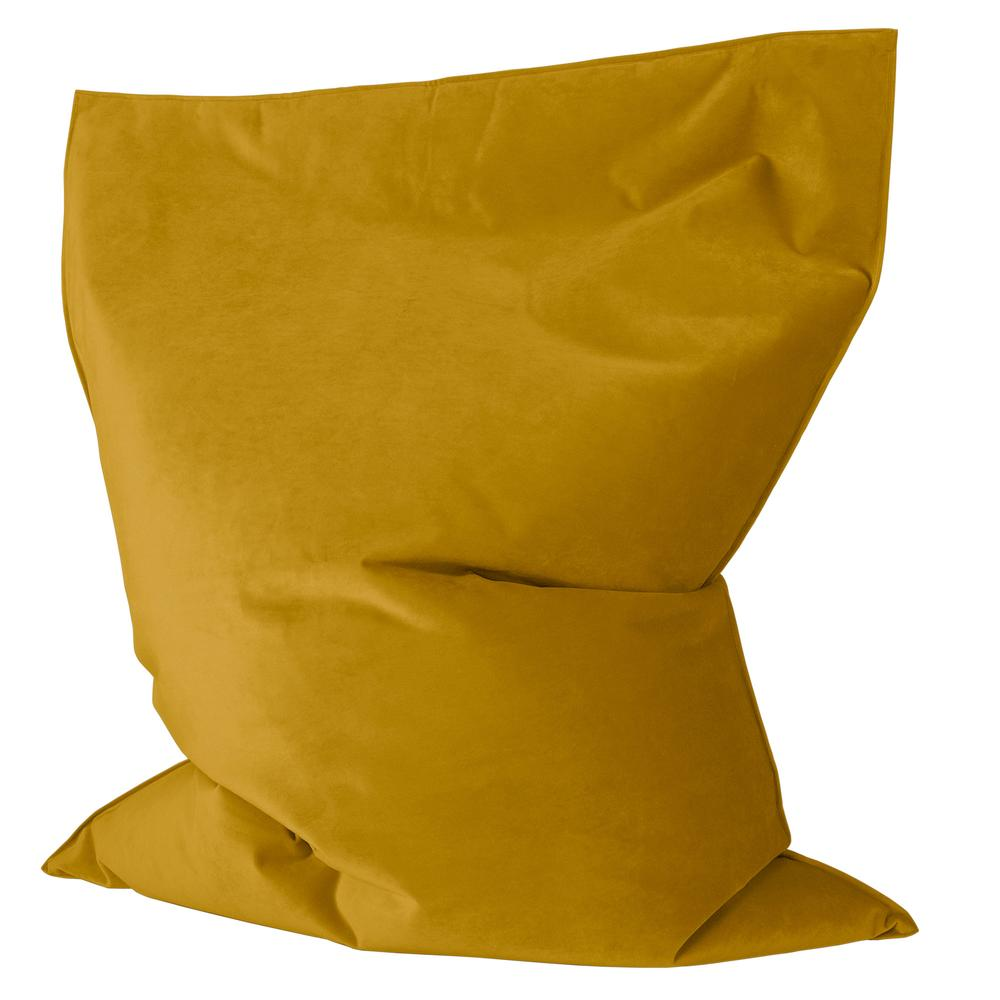 Junior-Children's-Bean-Bag-Velvet-Gold_3
