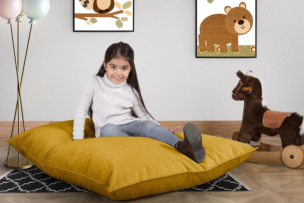 Junior-Children's-Bean-Bag-Velvet-Gold_2
