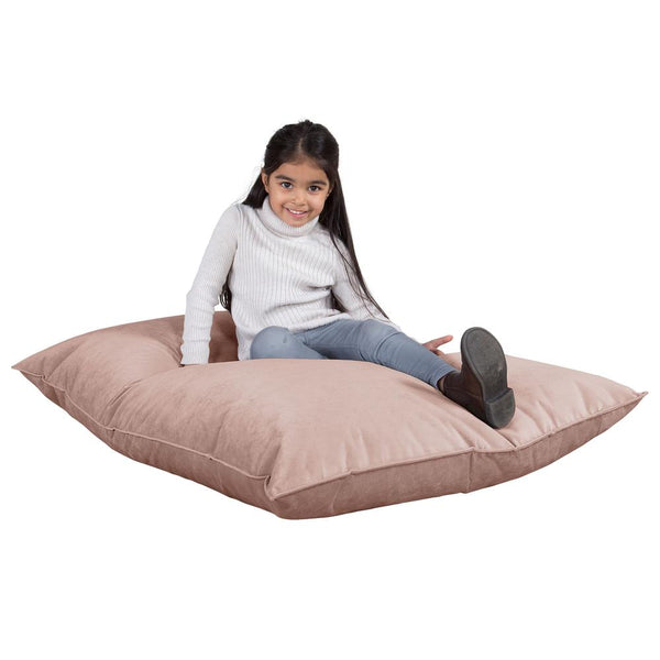 Junior Childrens Bean Bag - Velvet Rose Pink