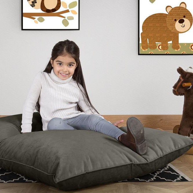 Junior-Children's-Bean-Bag-Velvet-Graphite-Grey_2