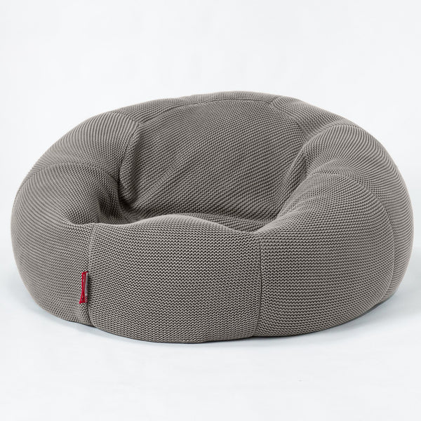 Classic-Sofa-Bean-Bag-Ellos-Knit-Grey_1
