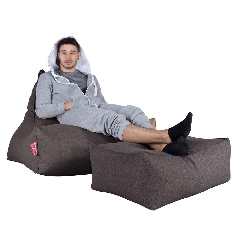 Lounger-Bean-Bag-Interalli-Wool-Grey_3