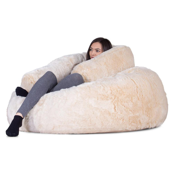 Mammoth-Bean-Bag-Sofa-Fluffy-Faux-Fur-White-Fox_1