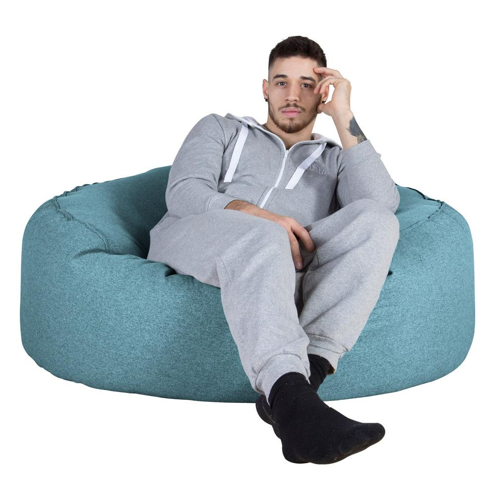 Mammoth-Bean-Bag-Sofa-Interalli-Wool-Aqua_1