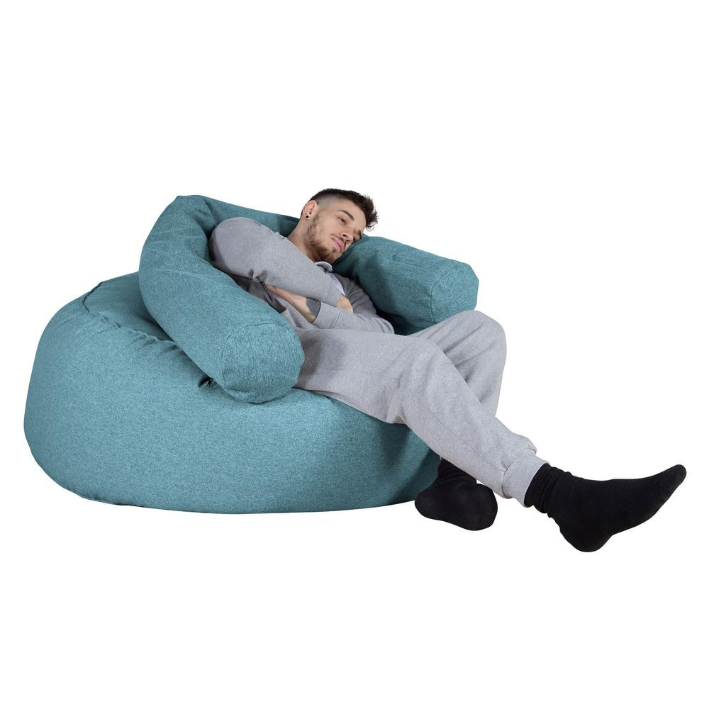 Mammoth-Bean-Bag-Sofa-Interalli-Wool-Aqua_6