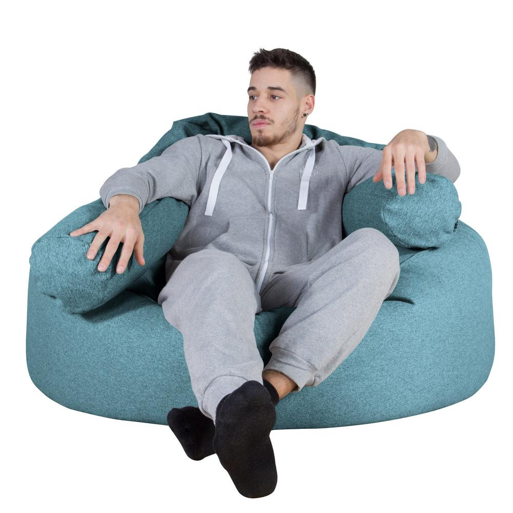 Mammoth-Bean-Bag-Sofa-Interalli-Wool-Aqua_5