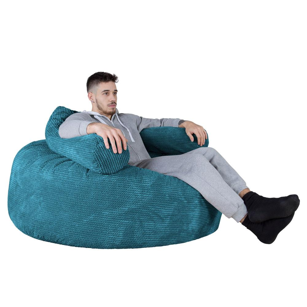 Mammoth-Bean-Bag-Sofa-Pom-Pom-Aegean-Blue_4