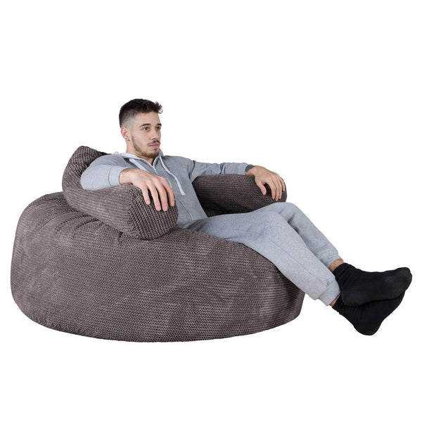 Mammoth-Bean-Bag-Sofa-Pom-Pom-Charcoal-Grey_1