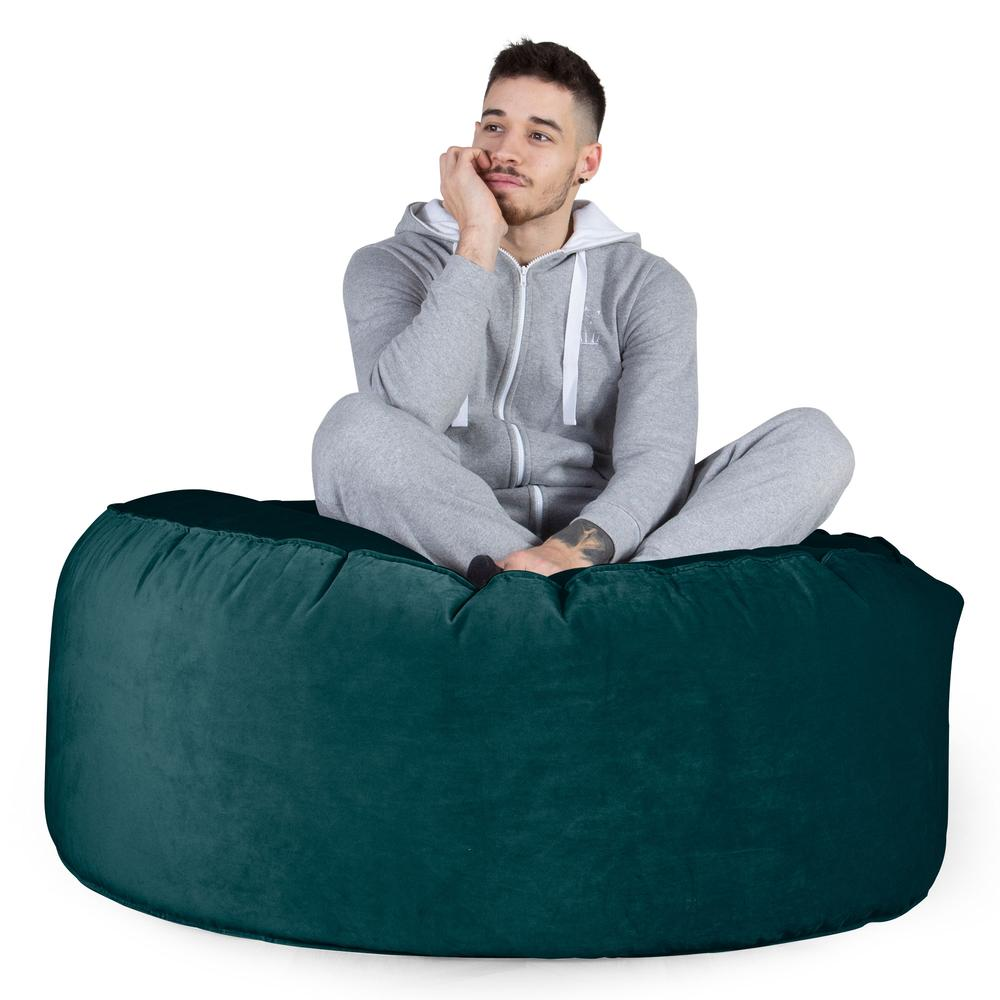 Mammoth-Bean-Bag-Sofa-Velvet-Teal_3