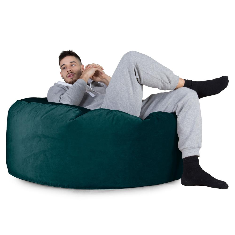 Mammoth-Bean-Bag-Sofa-Velvet-Teal_4