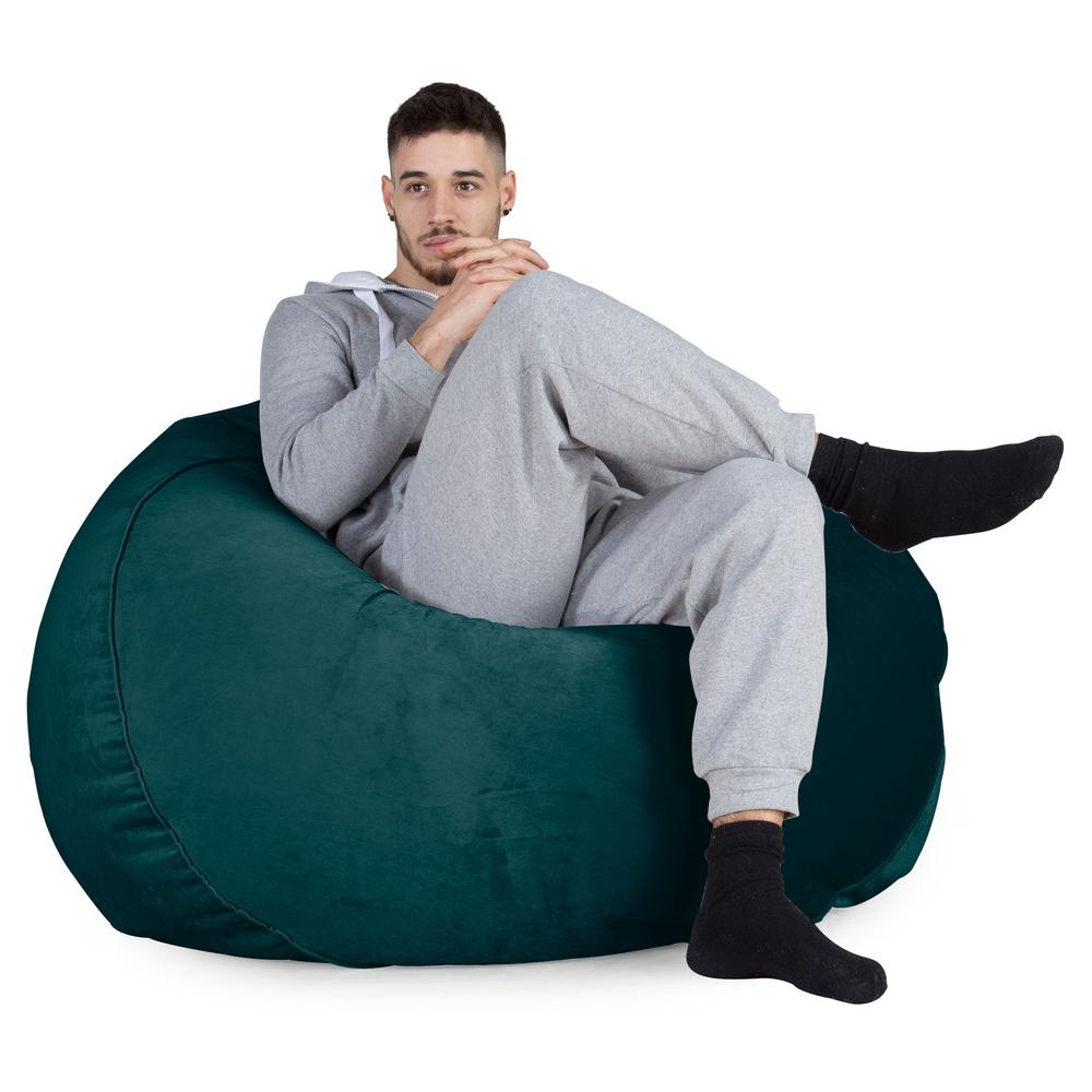 Mammoth-Bean-Bag-Sofa-Velvet-Teal_5