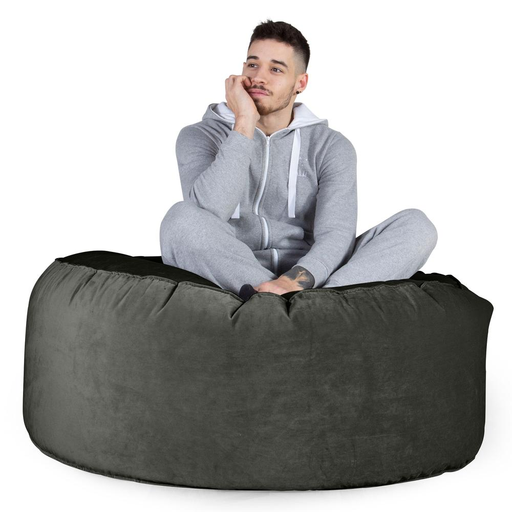 Mammoth-Bean-Bag-Sofa-Velvet-Graphite-Grey_3