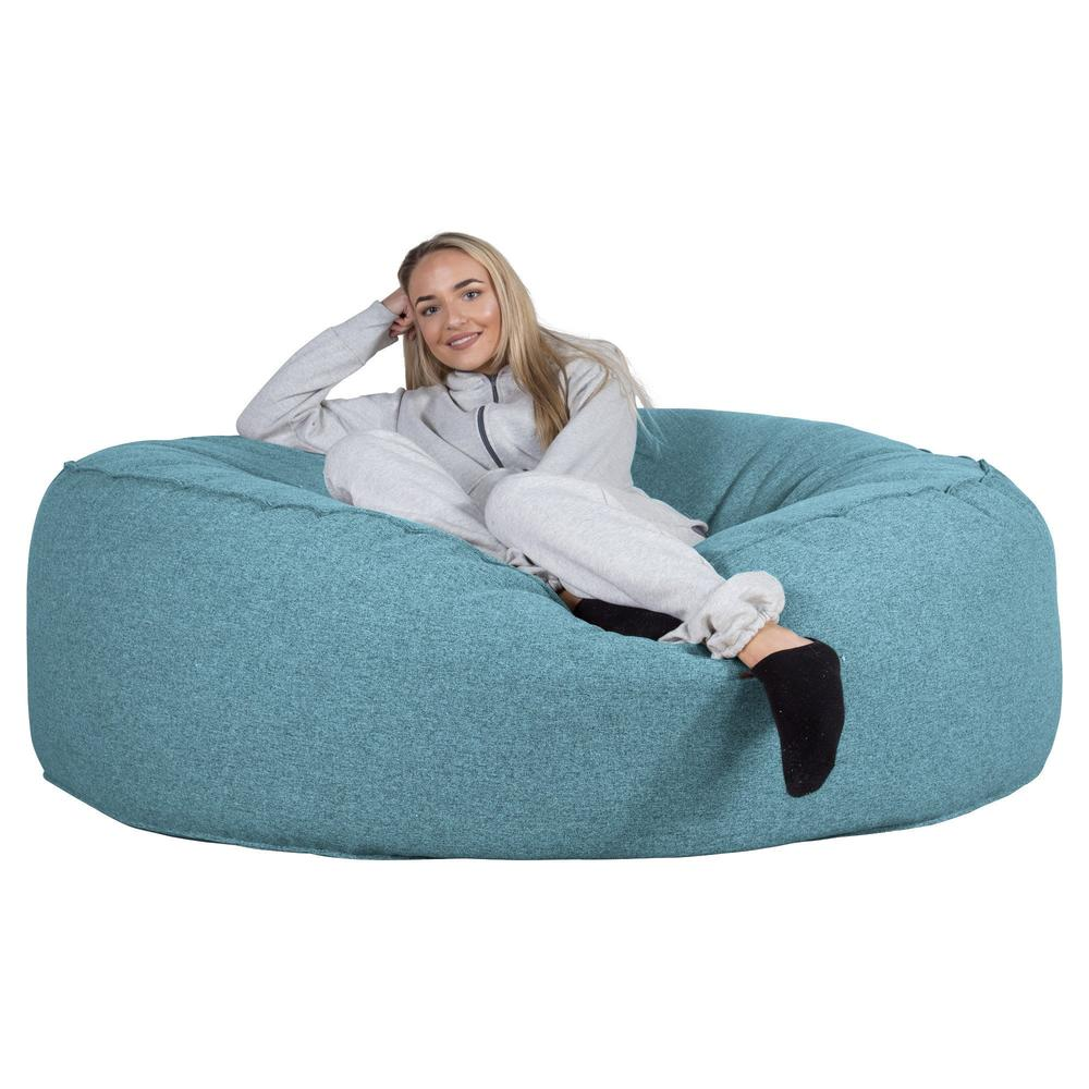 Mega-Mammoth-Bean-Bag-Sofa-Interalli-Wool-Aqua_4