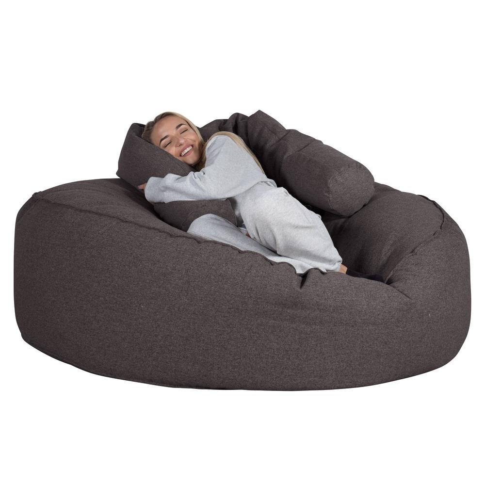 Mega-Mammoth-Bean-Bag-Sofa-Interalli-Wool-Grey_3