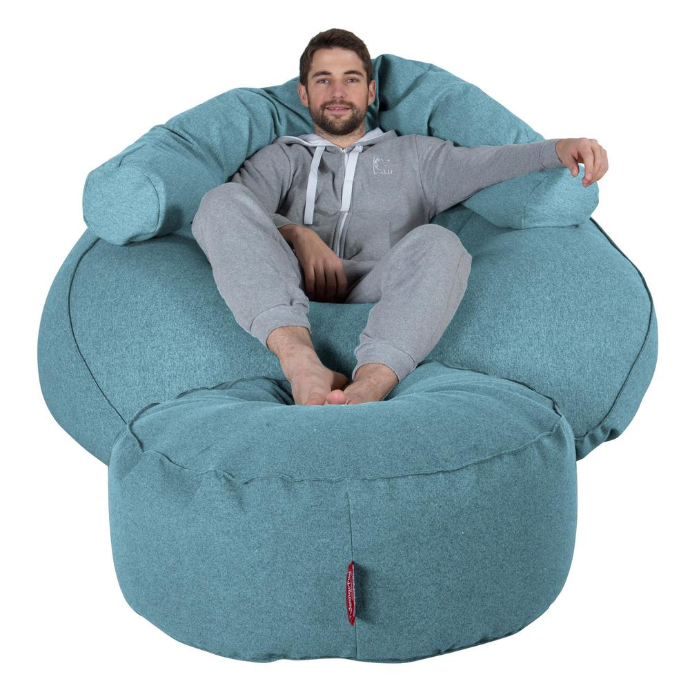 Mega-Mammoth-Bean-Bag-Sofa-Interalli-Wool-Aqua_1