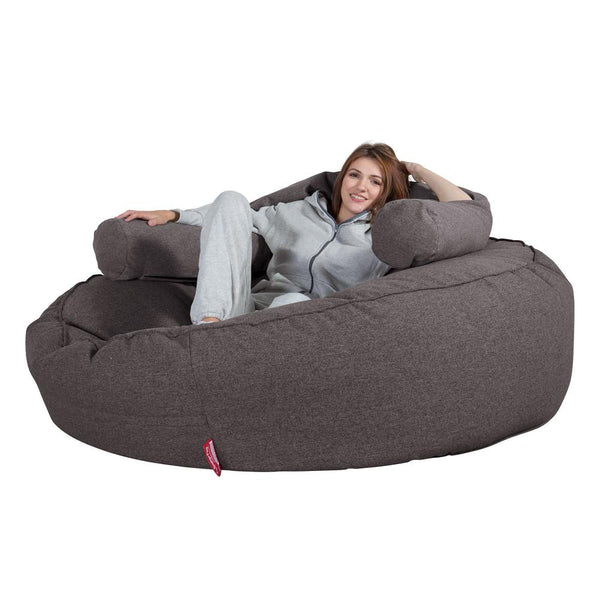 Mega-Mammoth-Bean-Bag-Sofa-Interalli-Wool-Grey_1