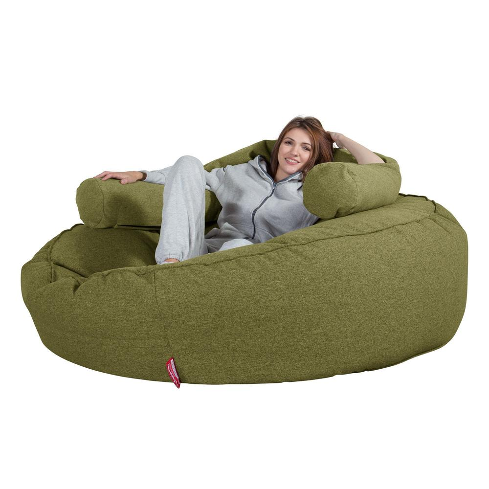 Mega-Mammoth-Bean-Bag-Sofa-Interalli-Wool-Lime-Green_4