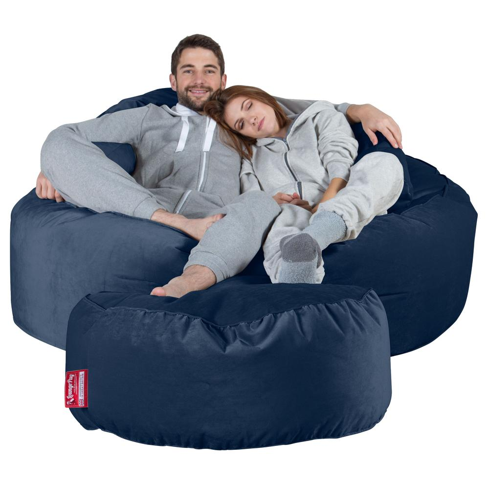 Mega-Mammoth-Bean-Bag-Sofa-Velvet-Midnight-Blue_4