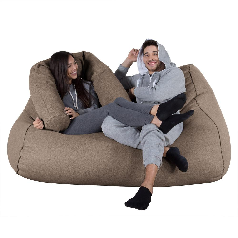Huge-Bean-Bag-Sofa-Interalli-Wool-Biscuit_3