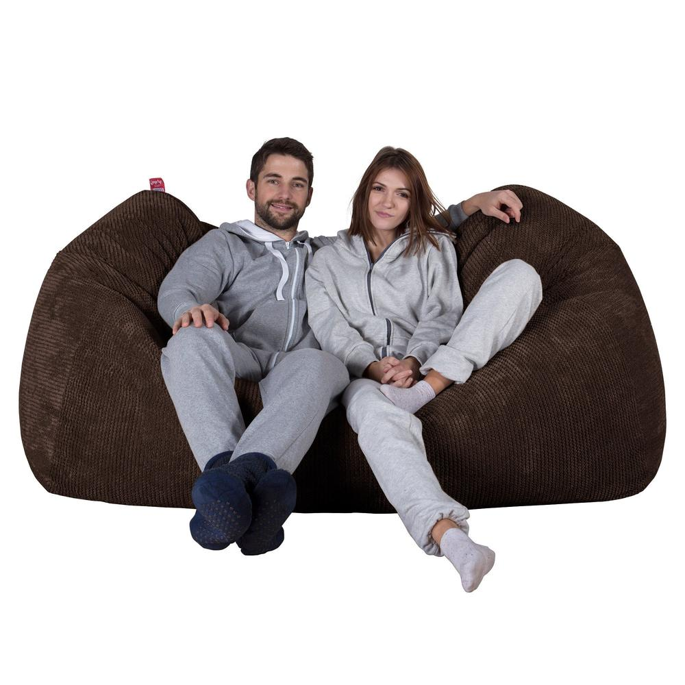 Huge-Bean-Bag-Sofa-Pom-Pom-Chocolate-Brown_1