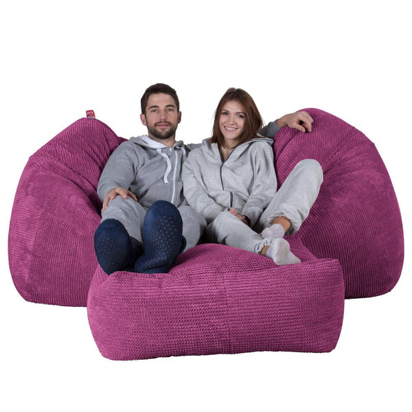Huge-Bean-Bag-Sofa-Pom-Pom-Pink_1