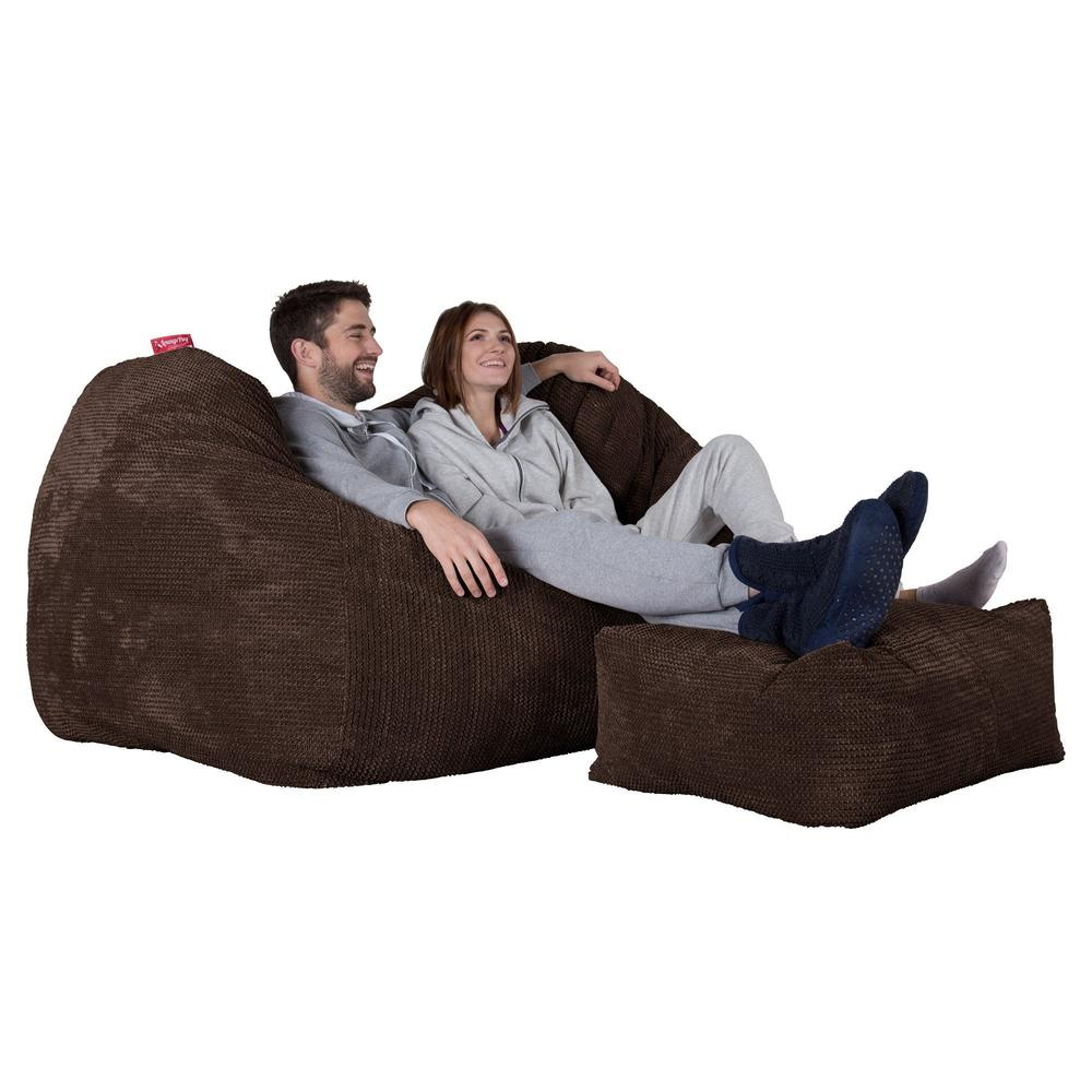 Huge-Bean-Bag-Sofa-Pom-Pom-Chocolate-Brown_4