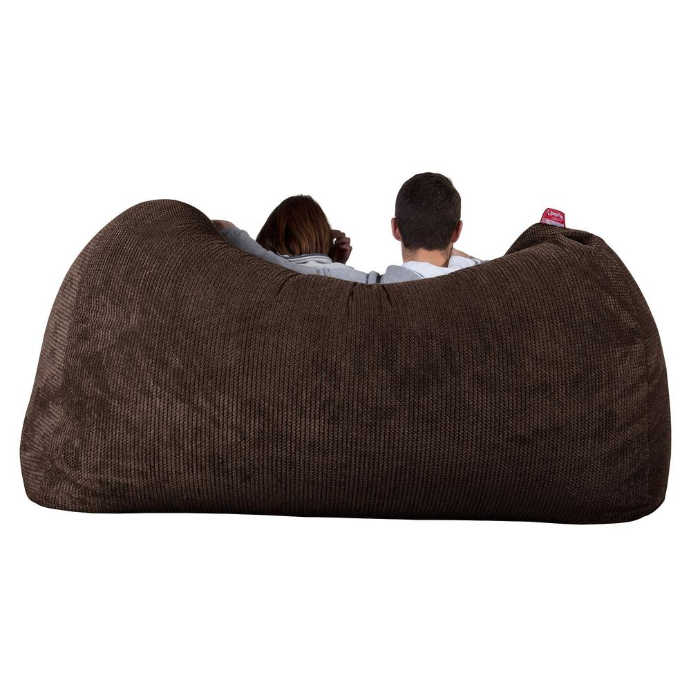 Huge-Bean-Bag-Sofa-Pom-Pom-Chocolate-Brown_5