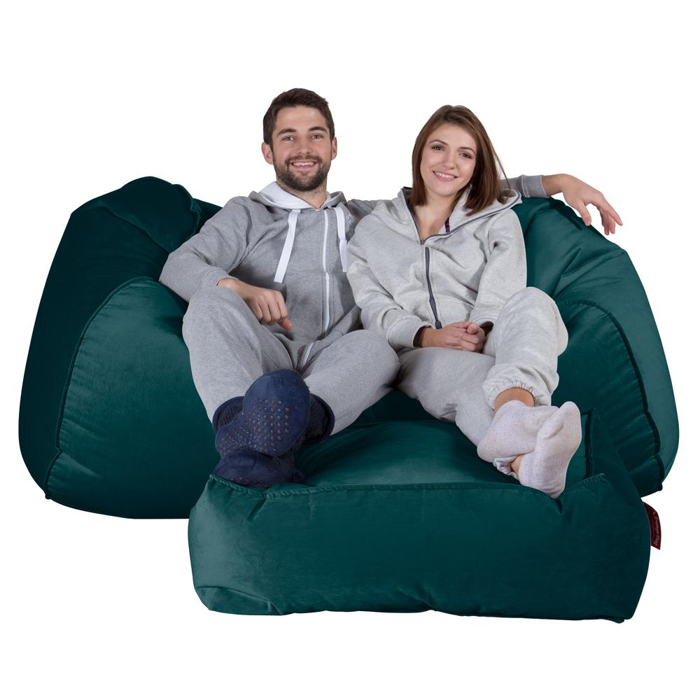 Huge-Bean-Bag-Sofa-Velvet-Teal_2