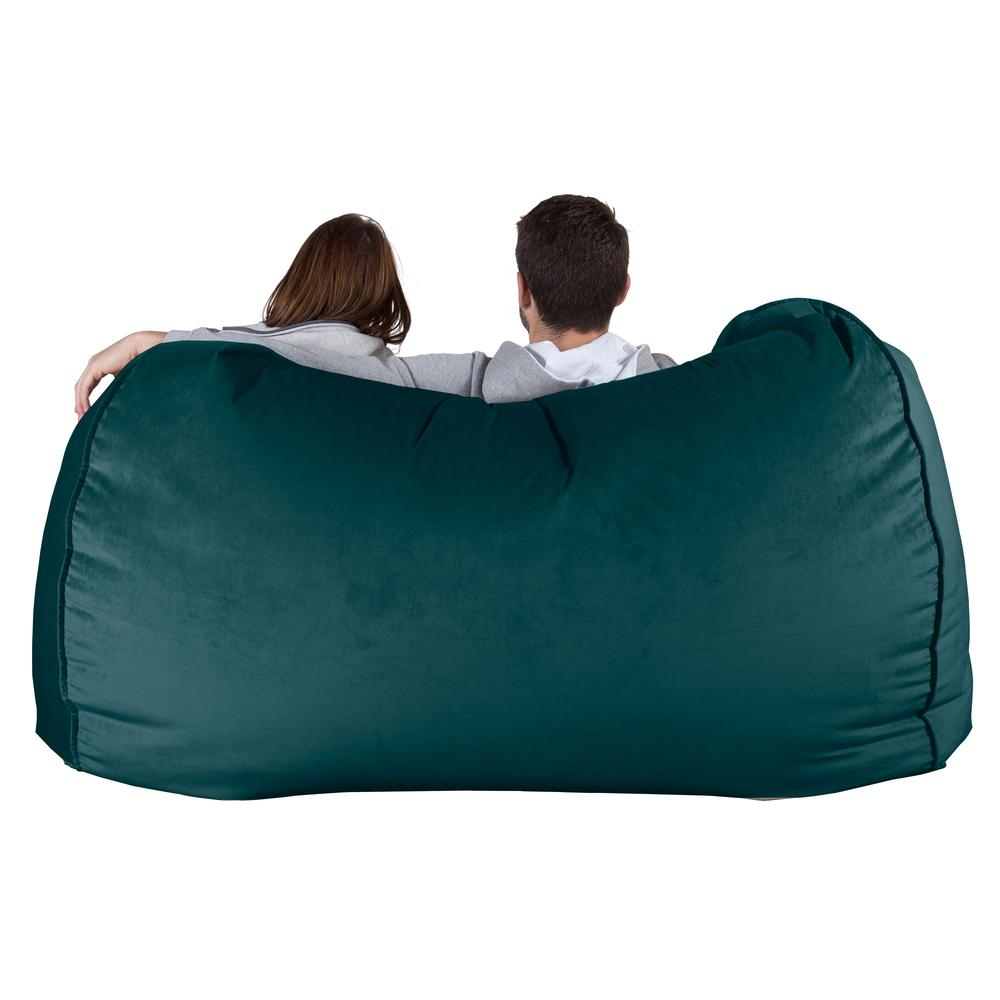 Huge-Bean-Bag-Sofa-Velvet-Teal_4