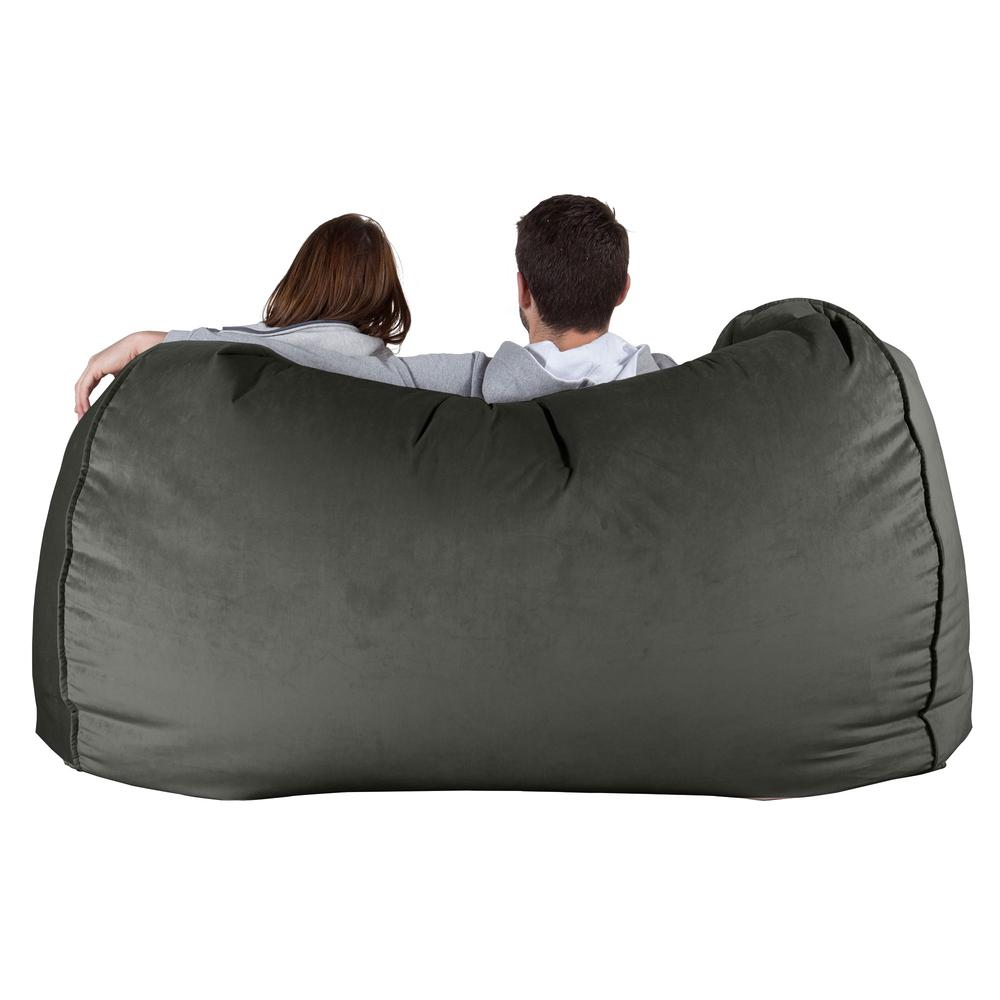 Huge-Bean-Bag-Sofa-Velvet-Graphite-Grey_5