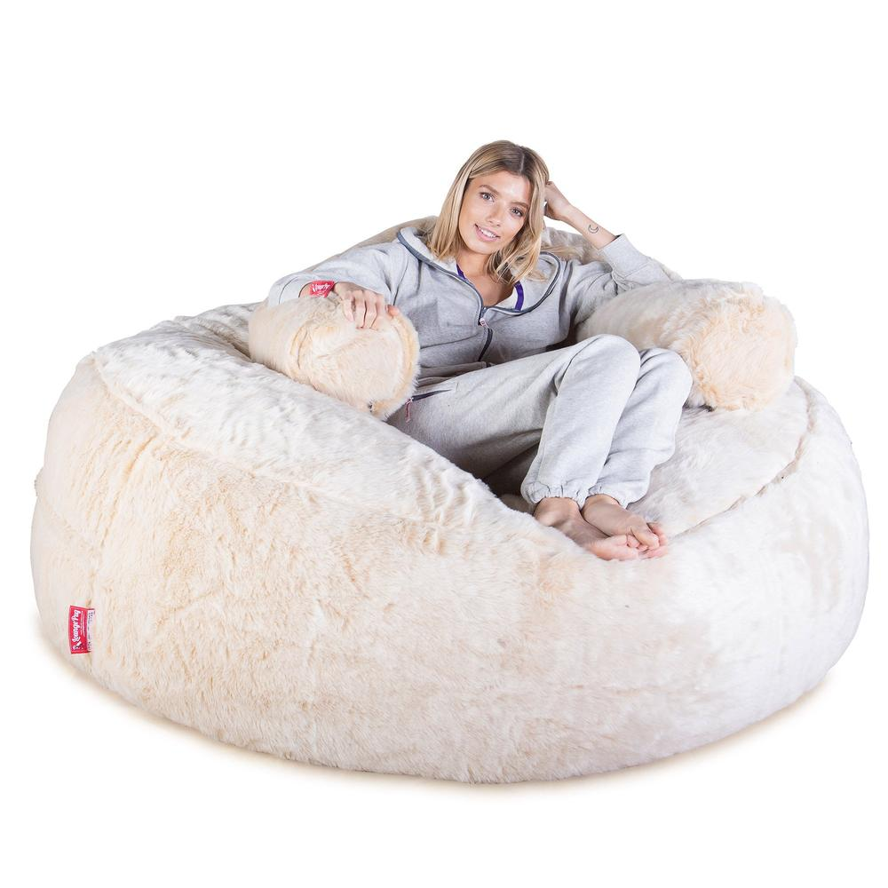 Mega-Mammoth-Bean-Bag-Sofa-Fluffy-Faux-Fur-White-Fox_1