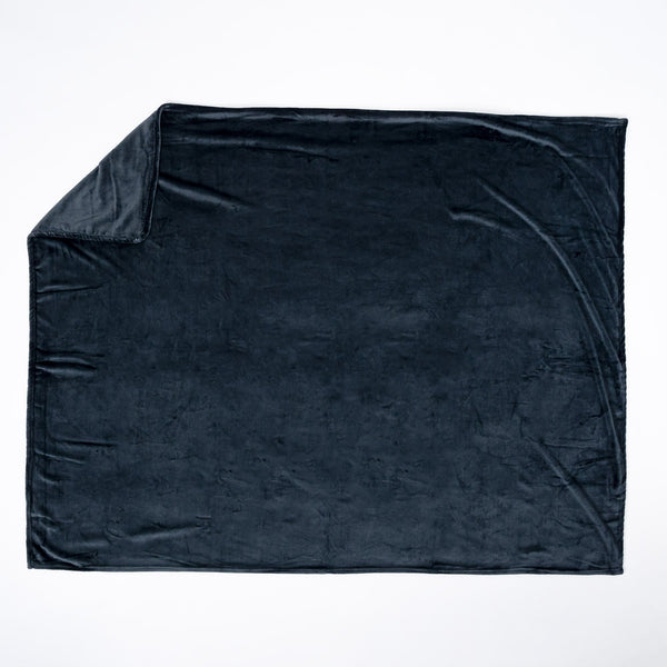 Flannel-Fleece-Throw-Blanket-Charcoal-Grey_1