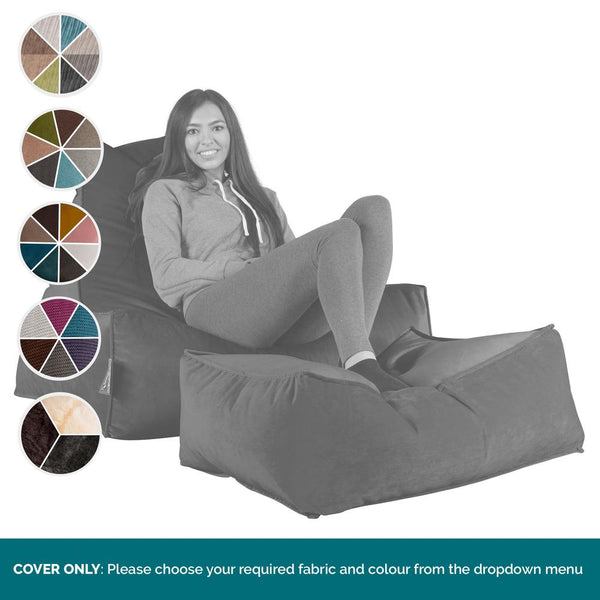 Lounger-Bean-Bag-COVER-ONLY-Replacement-/-Spares_1