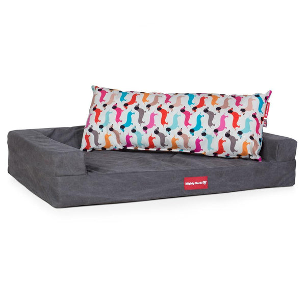 The-Bailey-Giant-Memory-Foam-Pillow-For-On-Dog-Beds-Daschund-Print_2