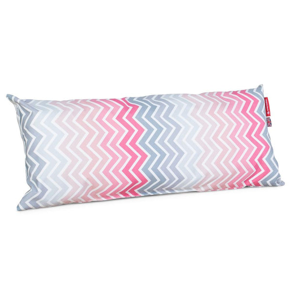 The-Bailey-Giant-Memory-Foam-Pillow-For-On-Dog-Beds-Geo-Print-Chevron-Pink_1