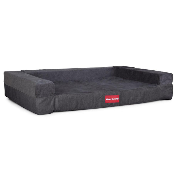 The-Bench-Orthopedic-Memory-Foam-Dog-Bed-Signature-Graphite-Grey_1