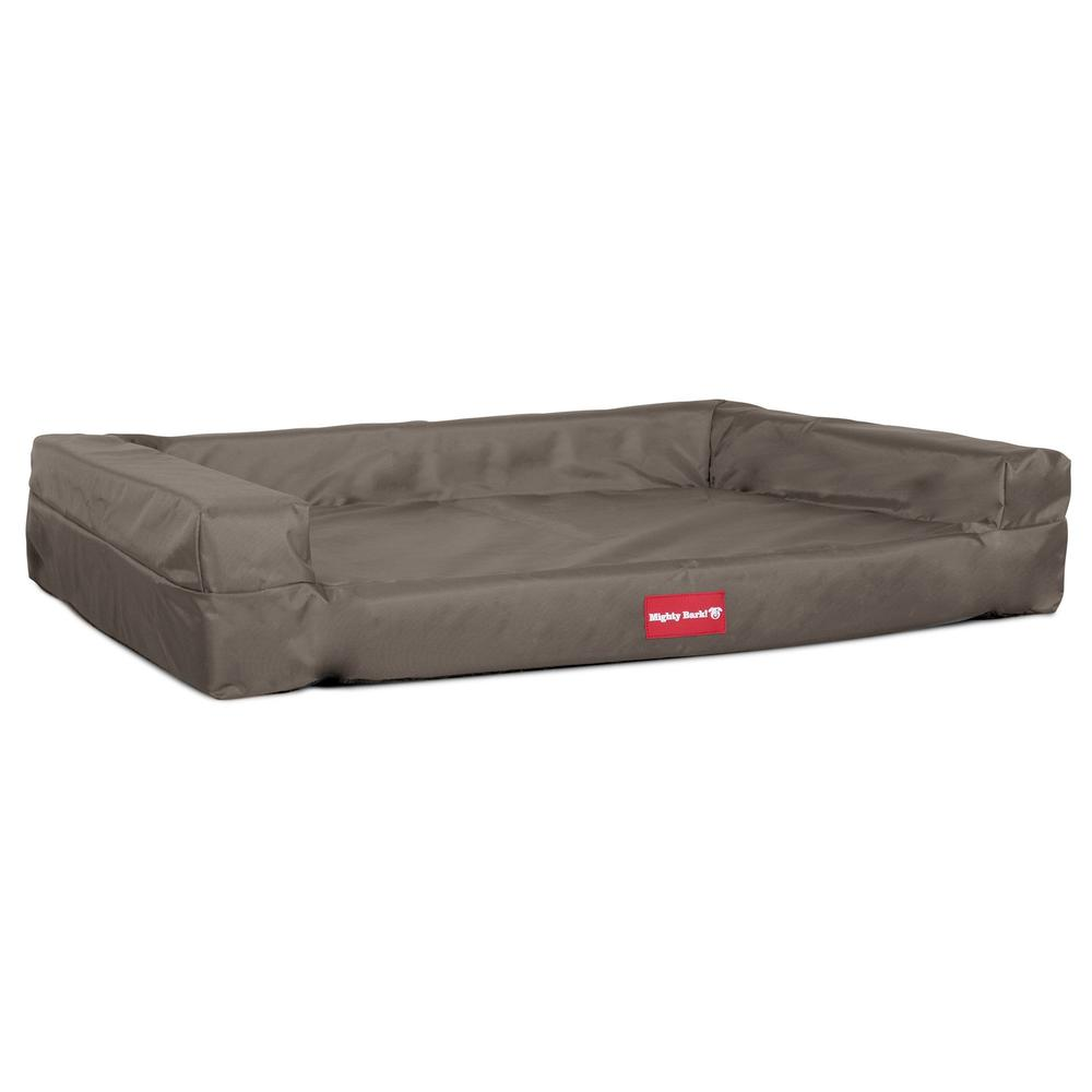 The-Bench-Orthopedic-Memory-Foam-Dog-Bed-Waterproof-Grey_1