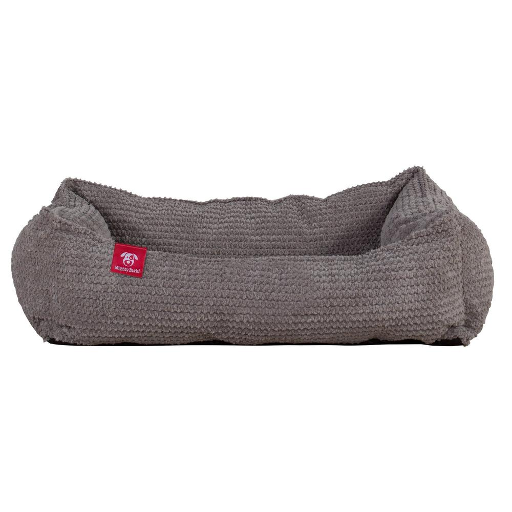 The-Cat-Bed-Memory-Foam-Cat-Bed-Pom-Pom-Charcoal-Grey_3