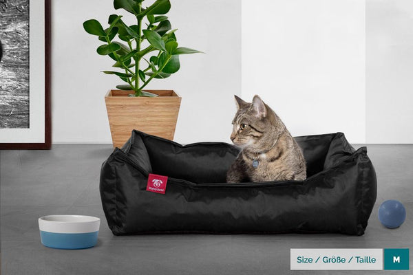 The-Cat-Bed-Memory-Foam-Cat-Bed-Waterproof-Black_2
